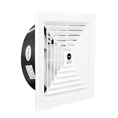 Ventilador Axial Ventilador de techo de escape, cocina baño extractor de humos de escape, de gran alcance de alta potencia, bajo ruido montado en el techo ventilador de ventilación, Apto for salón, do