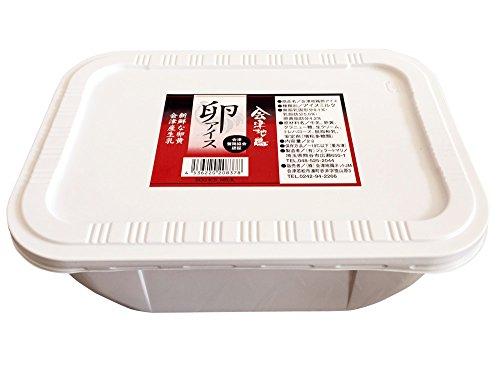 会津地鶏 卵アイス 2L バルク