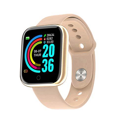 Braccialetto intelligente Touchscreen a colori HD da 1,3 pollici Smart Band IP67 Smartwatch impermeabile con contapassi Monitoraggio battito cardiaco Monitor pressione sanguigna Monitoraggio del