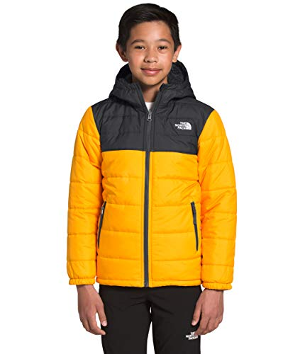 The North Face Boys' Reversible Mount Chimborazo Hoodie, Summit Gold, M
