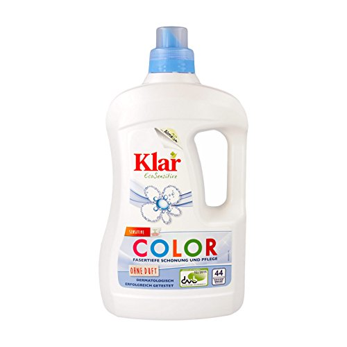Klar Bio Basis Sensitive Color Waschmittel (1 x 2 l)