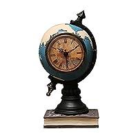 貯金箱 グローブマネーバンク、創造性貯金箱樹脂のお金ボックス時計コイン銀行の装飾品男の子子供の女の子のためのギフト 貯蓄ジャー (Color : Blue)