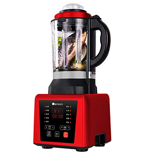 Blender, Smoothie Blender 1250W for Ice Crushing with 7-Speed (45000 r/min) and 9-Programs Setting, 62 OZ Glass Jar & 8Titanium Alloy Blades & Stainless Steel Housing Base,B