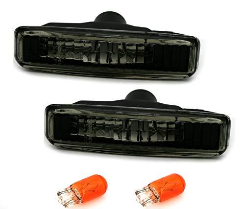AD Tuning GmbH & Co. KG 960665 AD Tuning Jeu de Feux Clignotants latéraux Noir/Verre Transparent