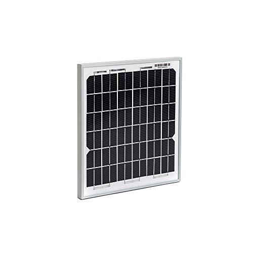 Solarkontor 10 Watt Solarmodul SK10MONO - Solarpanel 12V Monokristalline Solarzellen (10W)