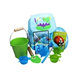 Little Pals Pond Dipping Explorer Kit with Back Pack, Extendable Net, Nature Book, Bucket and Pond Dipping Cups