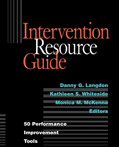 Intervention Resource Guide 50 Performance Improvement Tools