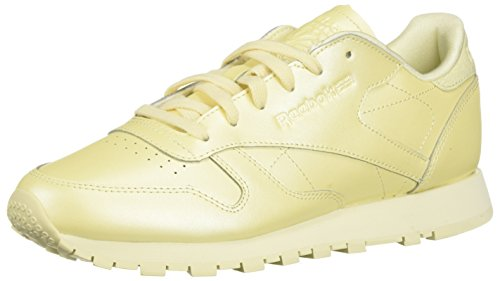 Reebok Women's Classic Leather Walking Shoe, mid-Washed Yellow, 7 M US