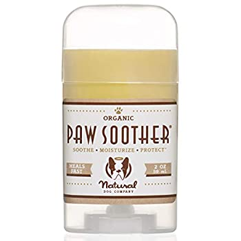 Natural Dog Company Paw Soother Heals Dry Cracked Irritated Dog Paw Pads Organic All Natural Ingredients 2oz Stick 1 Count Packaging May Vary