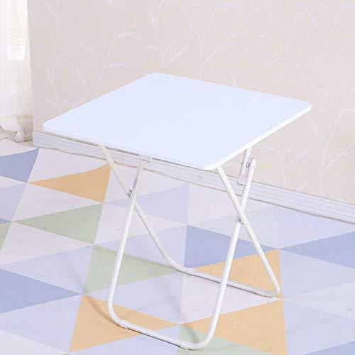 DNSJB Mesa plegable mesa de comedor para casa pequeña departamento cuadrado simple cuadrado (color: D, tamaño: 60 x 60)