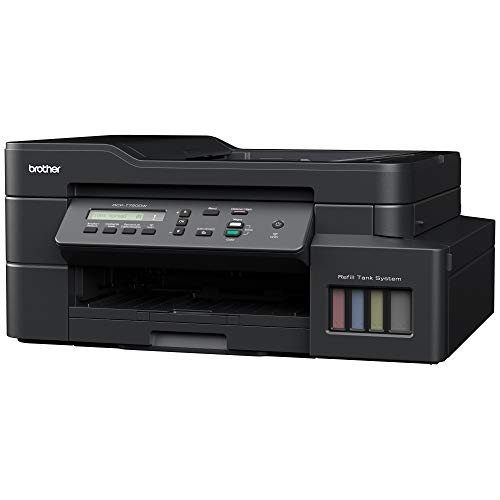 Brother Multifuncional DCP-T720DW, Color, Inyección, Inalámbrico, Print/Scan/Copy
