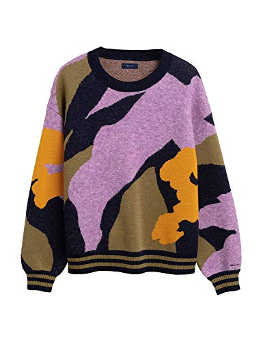GANT Women's Sweaters Oversized Fit Multicolour in Size Large