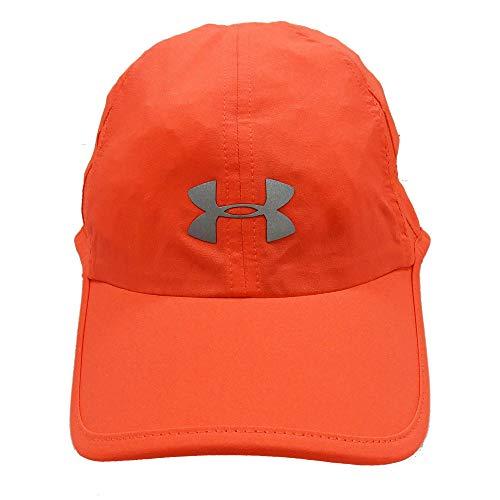 UNDER ARMOUR アンダーアーマー レディース ジュニア 女性用帽子 ランニング キャップ 帽子 55〜58cm - デザインH/蛍光ピンク