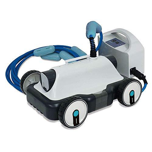 Kokido E-Klean - Robot limpiafondos automático para piscinas, 17.000 l/h