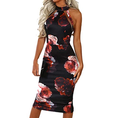 Vectry Vestidos para Mujer Vestidos Largos De Verano Casual Vestidos De Fiesta Cortos Elegantes para Bodas Moda Mujer 2019 Vestidos Vestidos Cortos Verano Vestidos Vestidos De Fiesta Vestidos Rojo