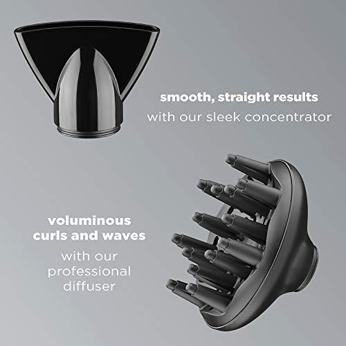 INFINITIPRO BY CONAIR 1875 Watt AC Motor Pro Hair Dryer with Ceramic Technology