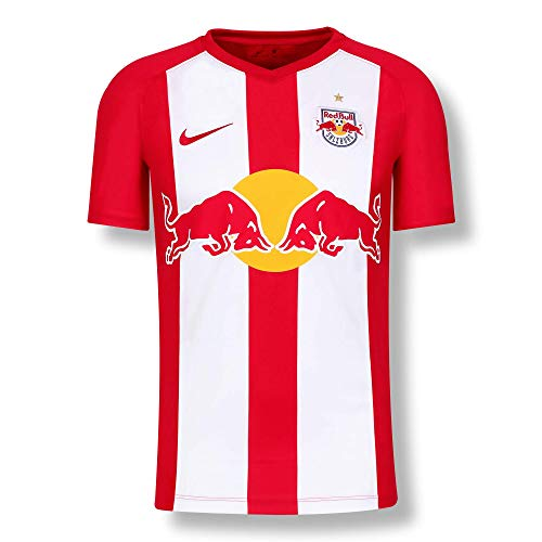 Red Bull Salzburg Home Camiseta 19/20, Rojo Hombres Small Camiseta Manga Corta,...