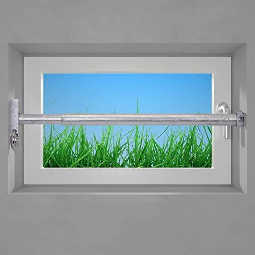 VOSS Fenstersicherung Sicherungsstange Türsicherung Einbruchschutz 1Fach 1000-1700mm