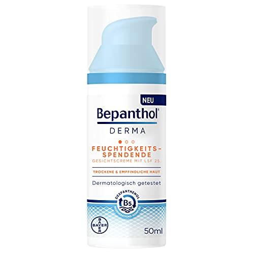 Bepanthol® DERMA Feuchtigkeitsspendende Gesichtscreme mit LSF 25 für empfindliche und trockene...