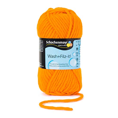 Schachenmayr Filzgarne Wash+Filz-it!, 50g orange