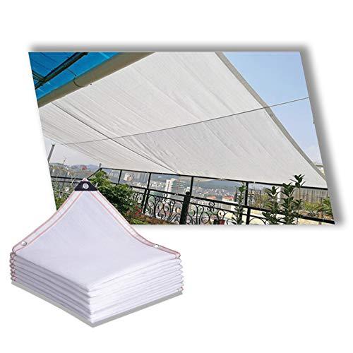 YJSMB Toldo Sombra, Malla Sombra Blanco Malla Quebrado por Viento Tasa De Sombreado del 90% por Invernadero Patio Interior Flores Planta (Size : 1x2m/3.2x6.5ft)