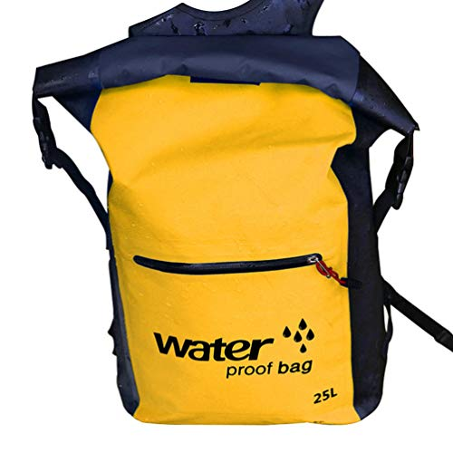 Baijiaye Bolsa estanca Impermeable Bolsas Secas Impermeable Seca PVC para Playa y Deportes al Aire Rafting Kayak Senderismo Canotaje Esquí Pesca Escalada Mochila