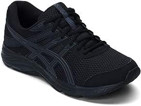 ASICS Men's Gel-Contend 6 Running Shoes, 10.5, Black/Black
