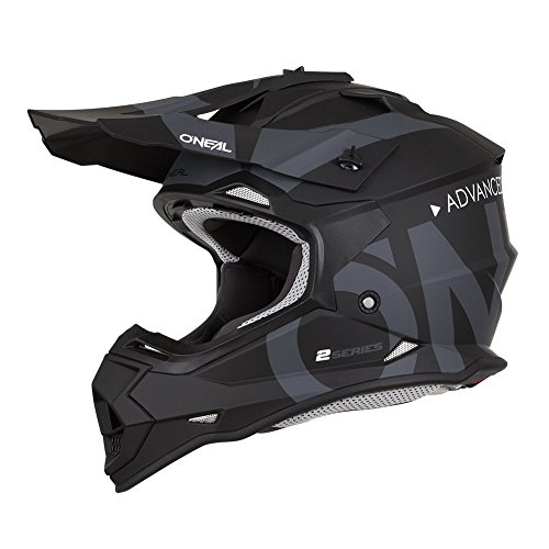 O\'NEAL 2SRS Helmet Slick Black/orange L (59/60cm)