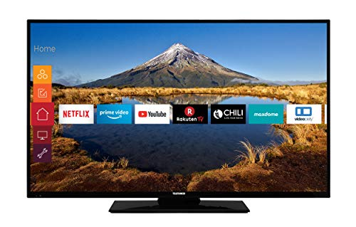 Telefunken XF49G511 124 cm (49 Zoll) Fernseher (Full HD, Triple-Tuner, Smart TV, Prime Video)