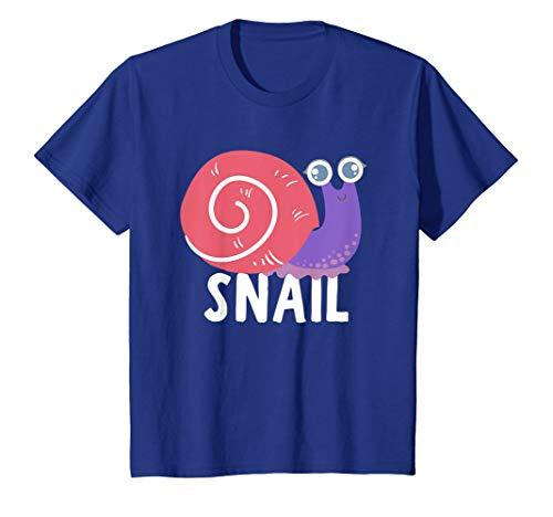 Kids Snail Shirt For Boys Or Girls | Cute Snail Gift