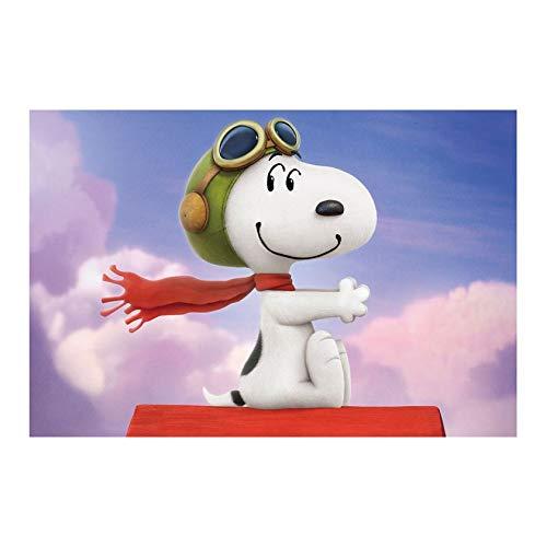 Jigsaw, Snoopy de madera rompecabezas, padres e hijos juguetes, diversión juguetes educativos, juguetes de dibujos animados for adultos de descompresión niños, 300/500/1000 Piezas, regalos del día de
