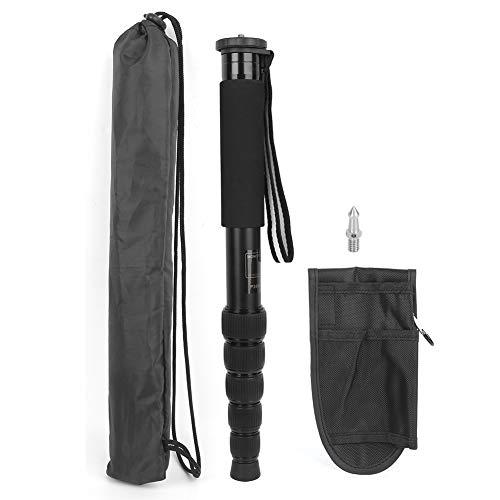 Monopode Wosume - Facile à transporter - En fibre de carbone - Petit et facile à utiliser - Pour appareil photo reflex numérique - Sans miroir