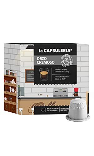 La Capsuleria® Capsule compatibili NESPRESSO - Caffè di ORZO CREMOSO (80 Capsule)