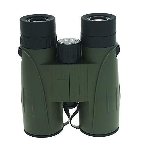 KK Zachary 8X42 Straight Fernglas, High Definition HD, Low Light Level Nachtsicht Vollvergütetes Jagd- Und Angelcamping/Heeresgrün (Farbe : Army Green)