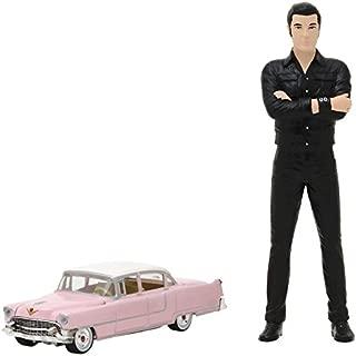 """Greenlight 1:64 Elvis Presley 1955 Cadillac 1: 64 Elvis Presley (1935-77) - 1955 Cadillac Fleetwood Series 60""""Pink Cadillac"""