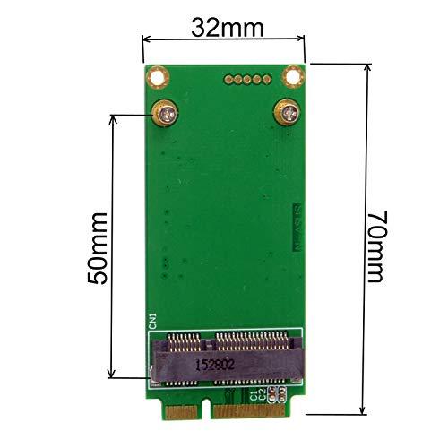 jser 3x 5cm mSATA Adapter auf 3x 7cm Mini PCI-E SATA SSD für ASUS Eee PC 1000S101900901900a T91