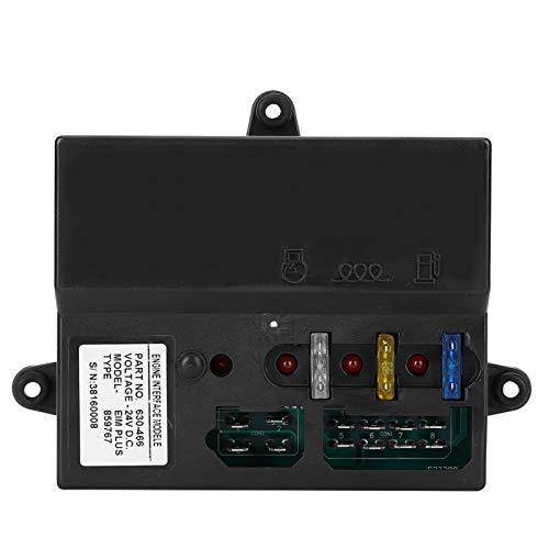 Accesorios de generador, controlador de grupo electrógeno de seguridad de 24 V, instrumentos electrónicos duraderos Productos industriales para generador Arranque la unidad