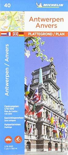 ANTWERPEN /ANVERS 19040 PLAN MICHELIN PLATTEGROND