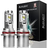 AUXLIGHT 9004 HB1 High Low Dual Beam LED Headlight Bulbs, 12000LM Per Set 6500K Xenon White (Pack of 2)