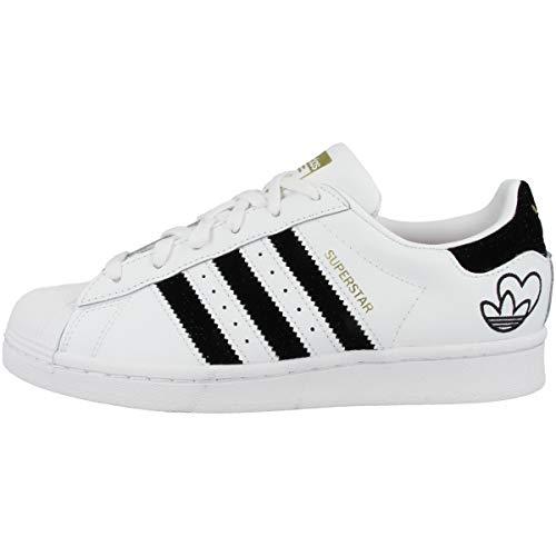 adidas Superstar FY4755 White Black Heart Black Le Blanco Size: 40 2/3 EU
