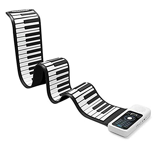 Tastiera Pianoforte Pieghevole 88 Tasti, Tastiera Pianoforte 88 Tasti Flessibile Elettronico Digitale Flessibile Midi Roll Up Tastiera Pianoforte (88 Tasti)