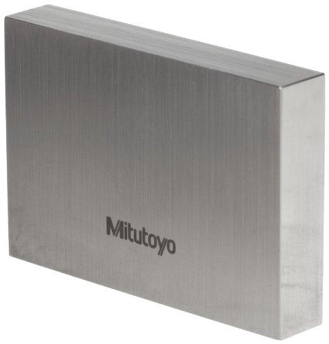Mitutoyo Steel Rectangular Gage Block, ASME Grade 0, 0.100
