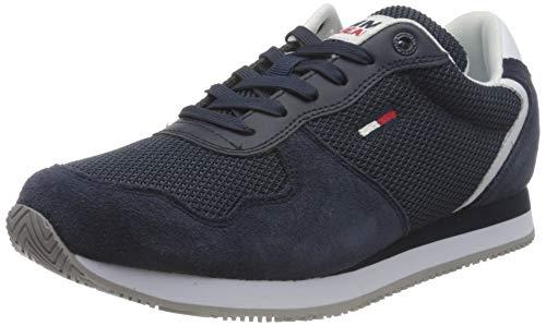 Tommy Jeans Damen Mono Sneaker, Marineblau (Twilight Navy), 38 EU