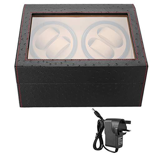 LXYFC Automático Watch Winder Relojes Mecánicos Winder 4 Relojes Automáticos 6 Reloj De Pulsera Mostrar Caja Reloj Automático Winder