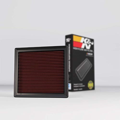 K&N Engine Air Filter: High Performance, Premium, Washable, Replacement Filter: 2010-2019 Toyota/Lexus/Mitsubishi (Highlander, RAV4, Sienna, Avalon, Camry, ES 350, NX300, Rx350, L200, Triton), 33-2443