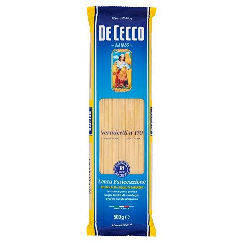 De Cecco Vermicelli Pasta di Semola di Grano Duro, 500g