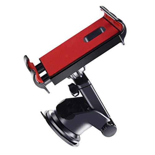 FAVOMOTO Soporte de Montaje Universal para Teléfono para Coche Soporte Ajustable para Teléfono Móvil Base Soporte para Tablet