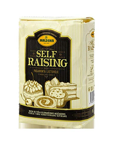 Malsena Harina con Polvo de Hornear, Harina de Trigo , Harina de Fuerza T 55 Self-raising Flour 10 x 1kg