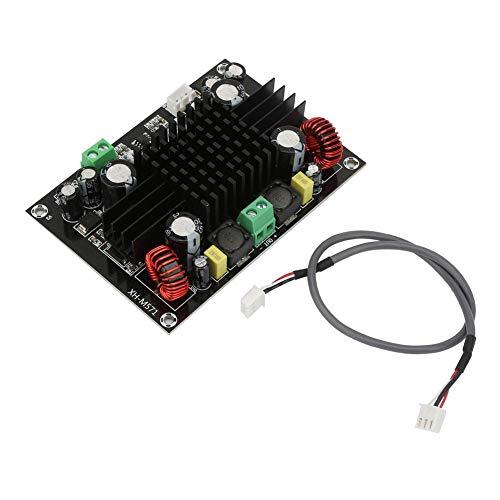 Audioverstärkerplatine,150W Digital verstärkerplatine XH-M571 Hochleistungs Boost Mono 150W Subwoofer Audio Digitalverstärkerplatine DC12V-24V,XX-fach 2-8 Ohm Digital Amplifier Board