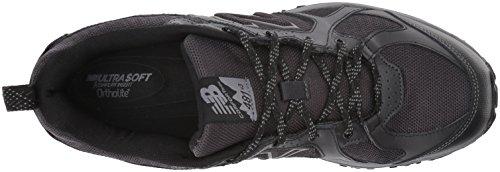 New Balance Men's 481 V3 Trail Running Shoe, Black/Grey, 10 M US 8
